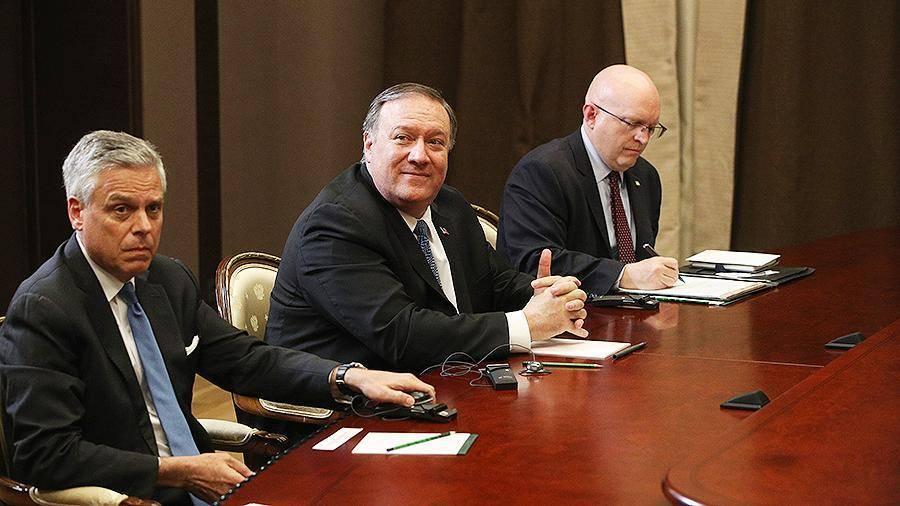 Помпео оценил встречу с Путиным в Сочи
