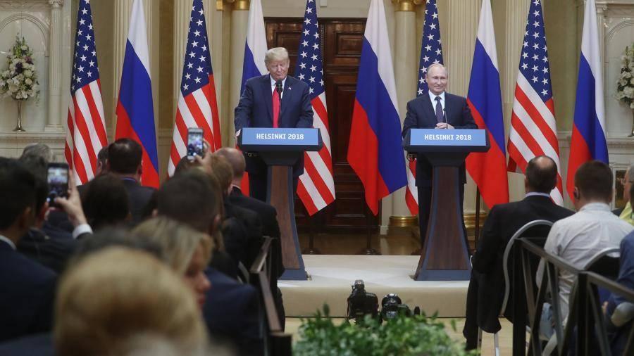 Песков заявил об отсутствии инициатив США по встрече Путина и Трампа