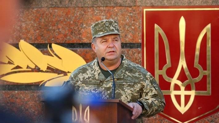 Полторак останется министром обороны Украины до решения Рады