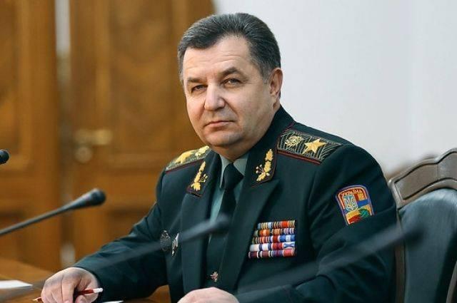 Зеленский вызвал в свою администрацию главу Минобороны Украины Полторака