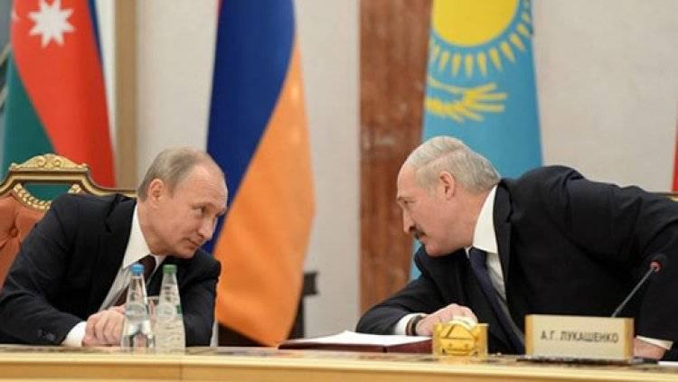 Песков рассказал о запланированной встрече Путина и Лукашенко на саммите ЕАЭС
