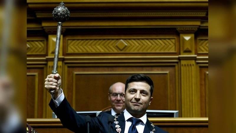 Зеленский внес свой первый законопроект в Верховную Раду
