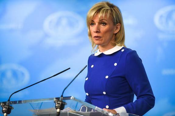 """Захарова оценила угрозы введения """"гамбургских"""" санкций в отношении России"""