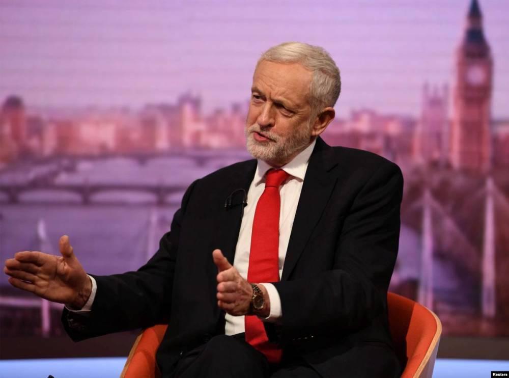 Лидер лейбористов: вопрос о Брекзите должны решить избиратели