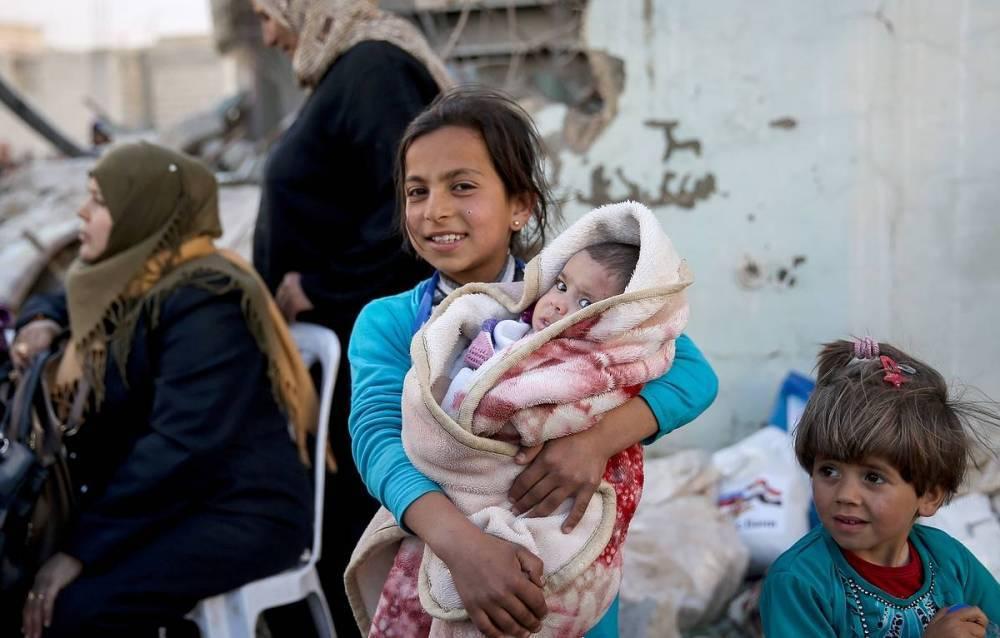 В Сирии открыт пункт пропуска для беженцев из идлибской зоны деэскалации