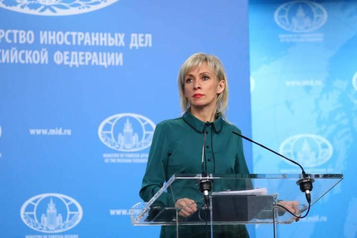 Захарова пошутила над возвращением Саакашвили украинского гражданства