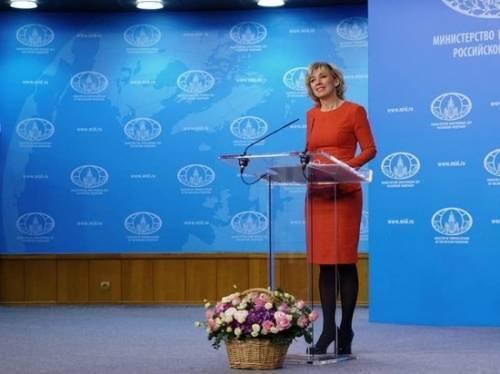 Захарова пошутила над возвращением Саакашвили на Украину