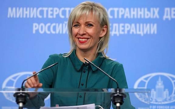 Захарова пошутила о решении Зеленского вернуть гражданство Саакашвили