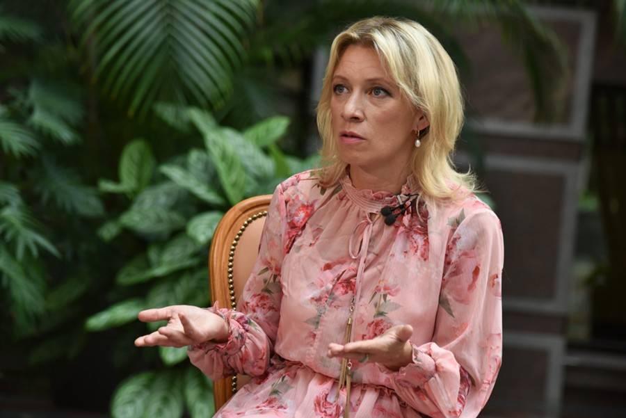 Захарова прокомментировала инцидент с бюстом Жукова на Украине