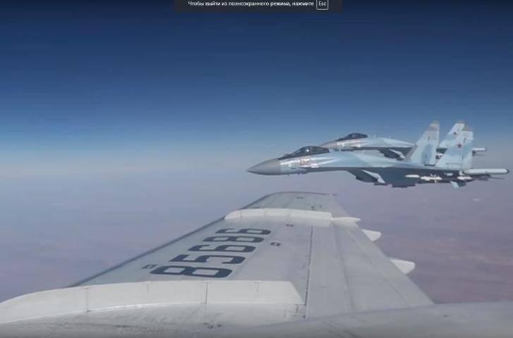 Минобороны опровергло «небезопасный перехват» самолета США над Средиземным морем