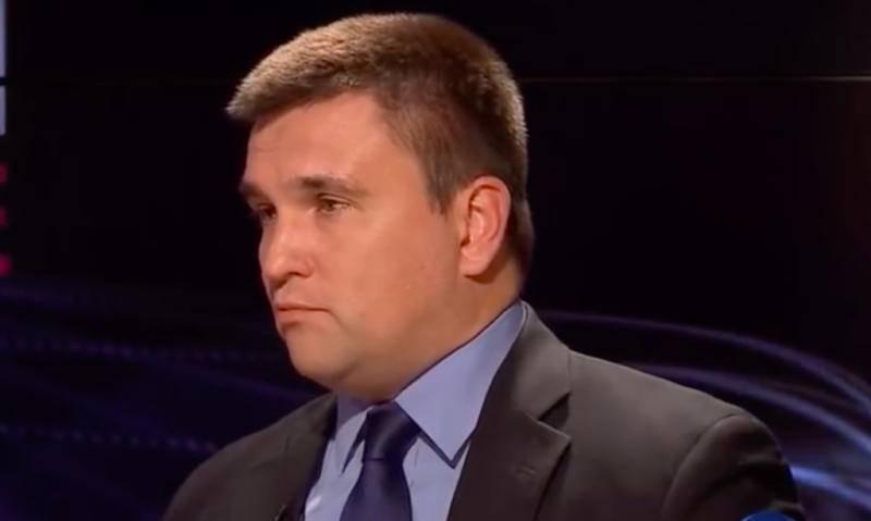 Рада отказалась отправлять главу МИД Украины Павла Климкина в отставку