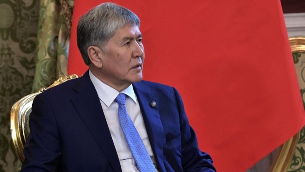 """""""Не стреляйте в свой народ"""": Атамбаев обвинил силовиков в применении боевого оружия"""