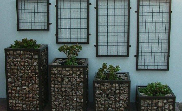 Идеи использования габионов для оформления загородного участка