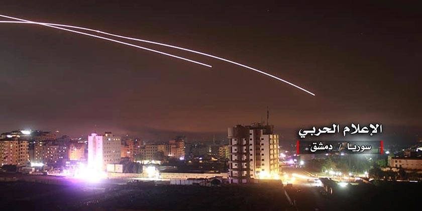 Сирийские СМИ: «Израиль атаковал цели в районе Тадмора»