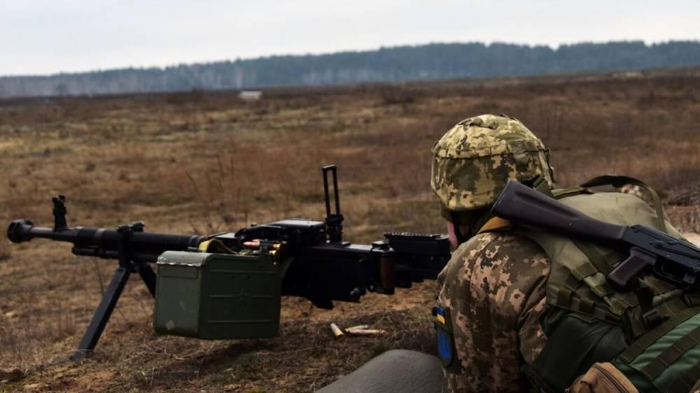 Пожар унес жизни троих украинских военных в Донбассе