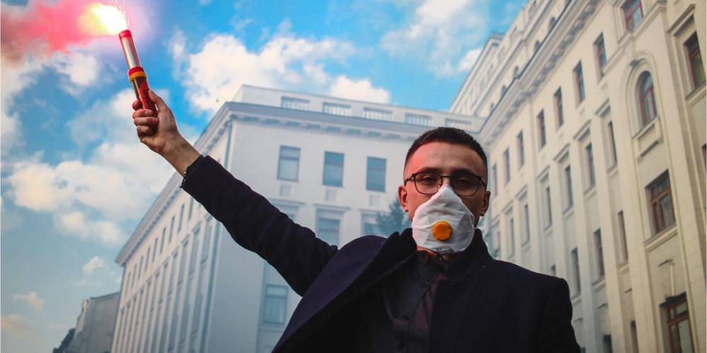 Приговор Стерненко: активисты анонсировали акцию протеста под Офисом Зеленского