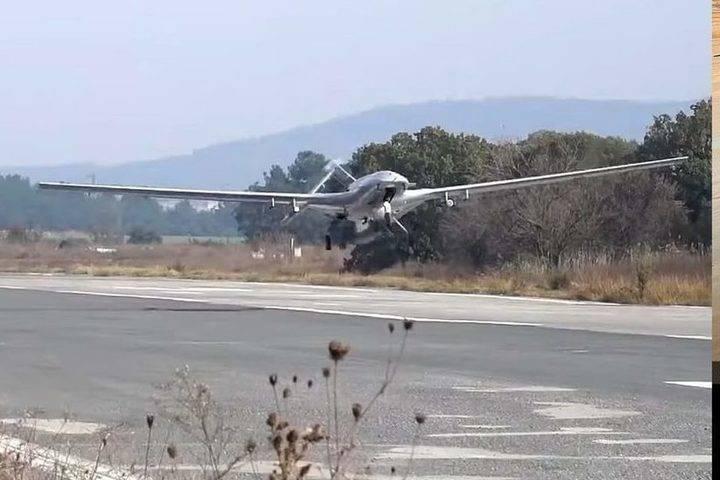Покорители Карабаха турецкие беспилотники Bayraktar появились над Черным морем
