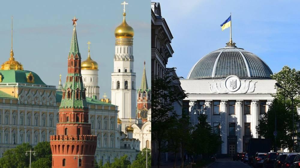 В МВД Украины сочли закрытие оппозиционных телеканалов «ударом» по России