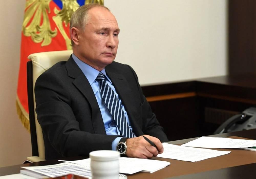 Владимир Путин усилил меры безопасности в Петербурге перед Евро-2020