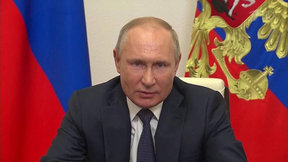 Владимир Путин пообщался с участниками просветительского марафона «Новое знание»
