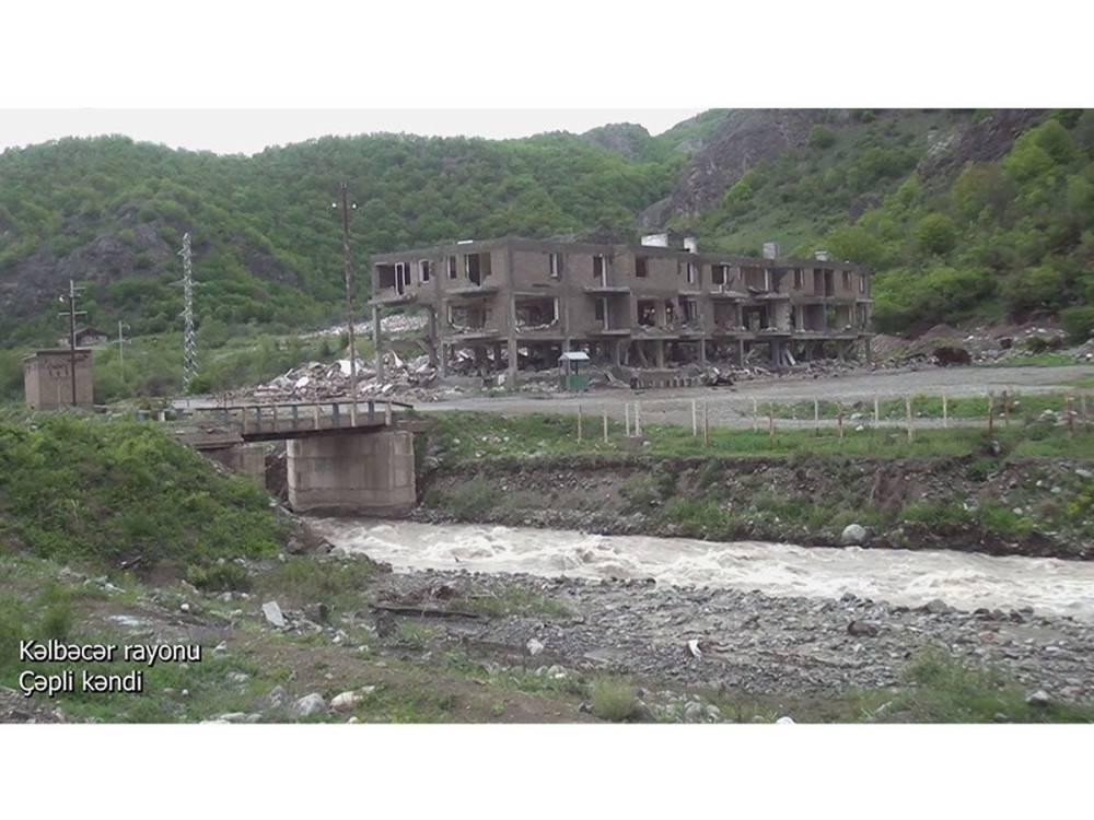 Освобожденное село Чепли Кельбаджарского района (ВИДЕО)