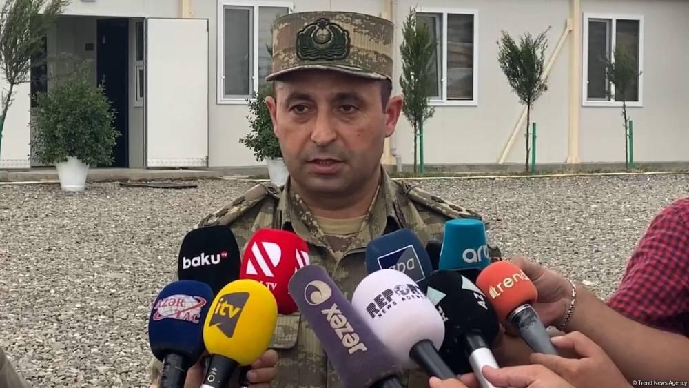 На освобожденных территориях Азербайджана в пользование военнослужащих передано до 60 пунктов размещения модульного типа