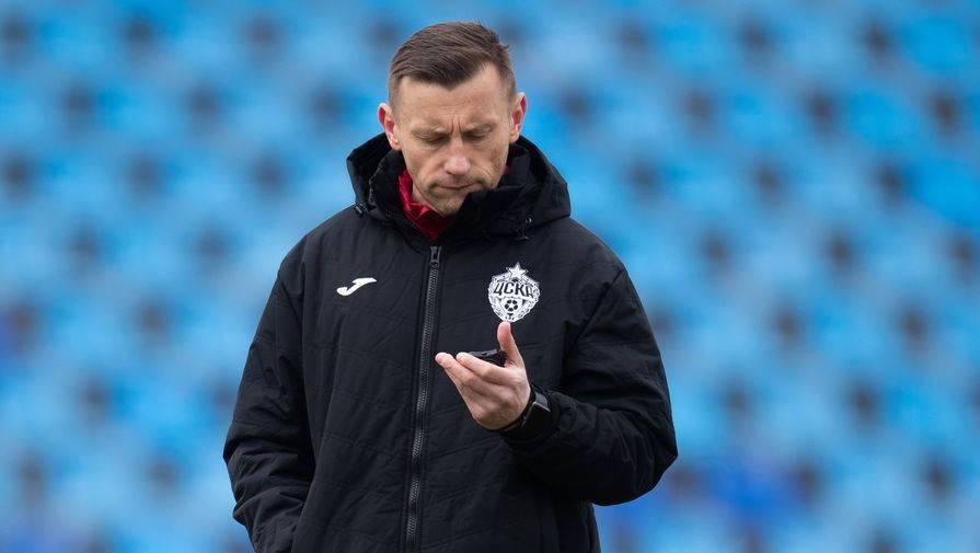 Экс-игрок ЦСКА Ярошик заявил, что он в шоке от увольнения Олича
