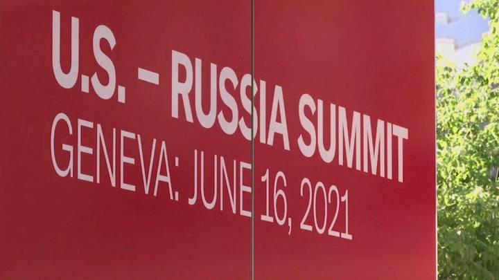 """Новости на """"России 24"""". Байден прилетел в Женеву на встречу с Путиным"""