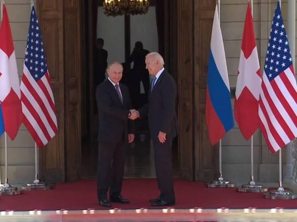 Путин встретился с Байденом в Женеве