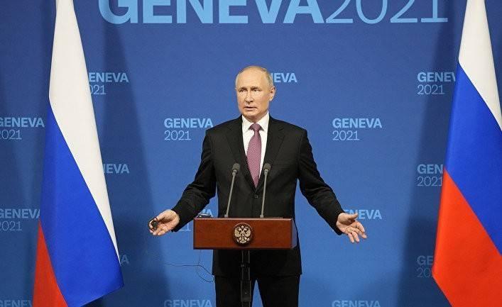Женевский саммит: Путин добился того, чтобы США признали Россию великой державой (NHK)