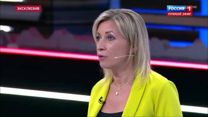 Мария Захарова прокомментировала доклад Борреля в отношении России