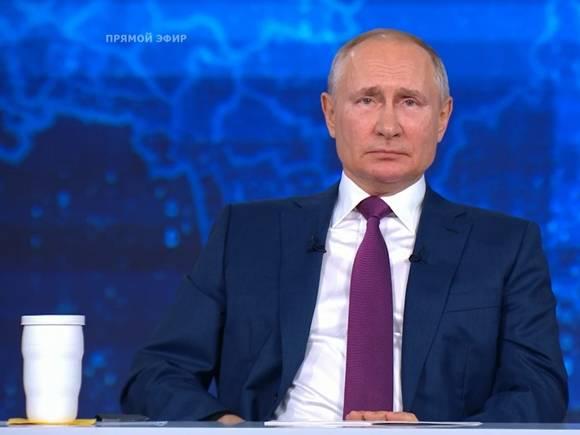 Путин выразил надежду, что его главное достижение на посту президента «еще впереди»