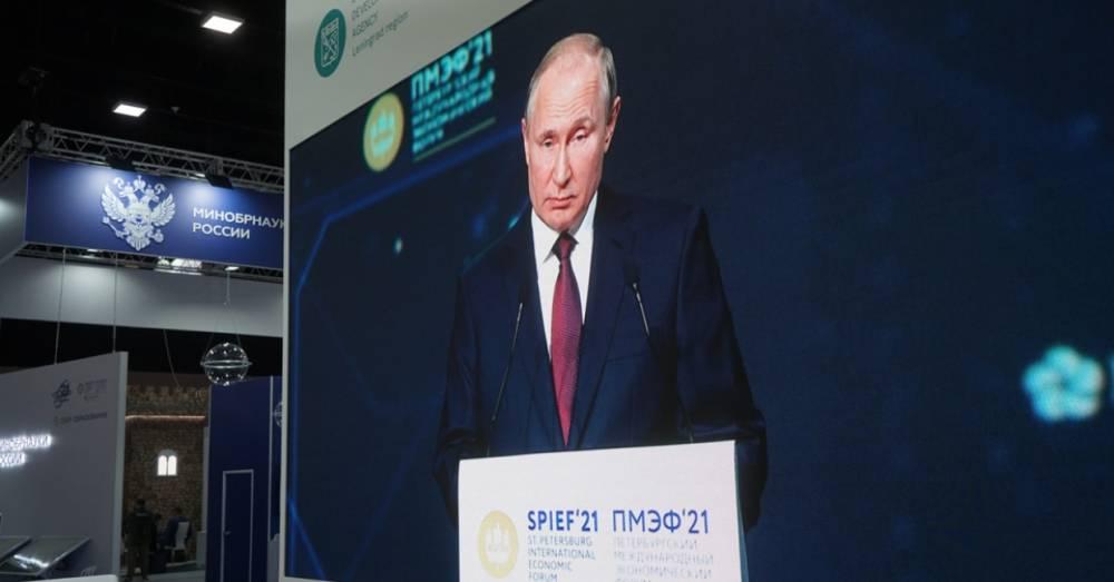 Путин объяснил применение мер по дедолларизации