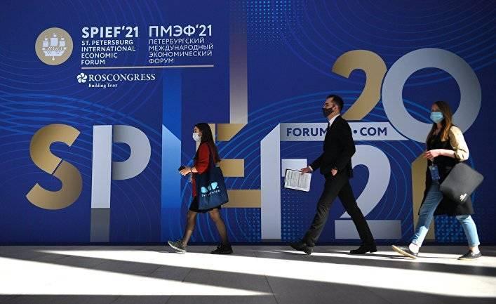 Le Monde (Франция): на форуме в Петербурге Путин выразил осторожный оптимизм