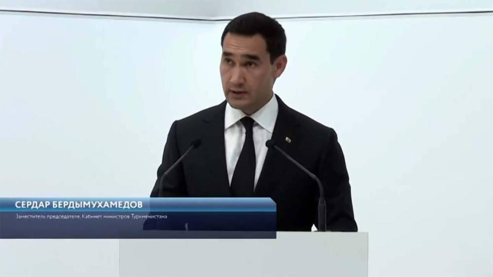 Выступление Сердара Бердымухамедова на экономическом Форуме в Санкт-Петербурге (видео)
