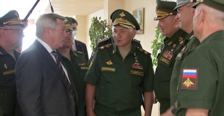 Шойгу пристыдил главу Ростовской области за стол без сала для военных