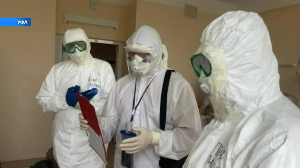 В Башкирии за сутки коронавирусом заразились 299 человек