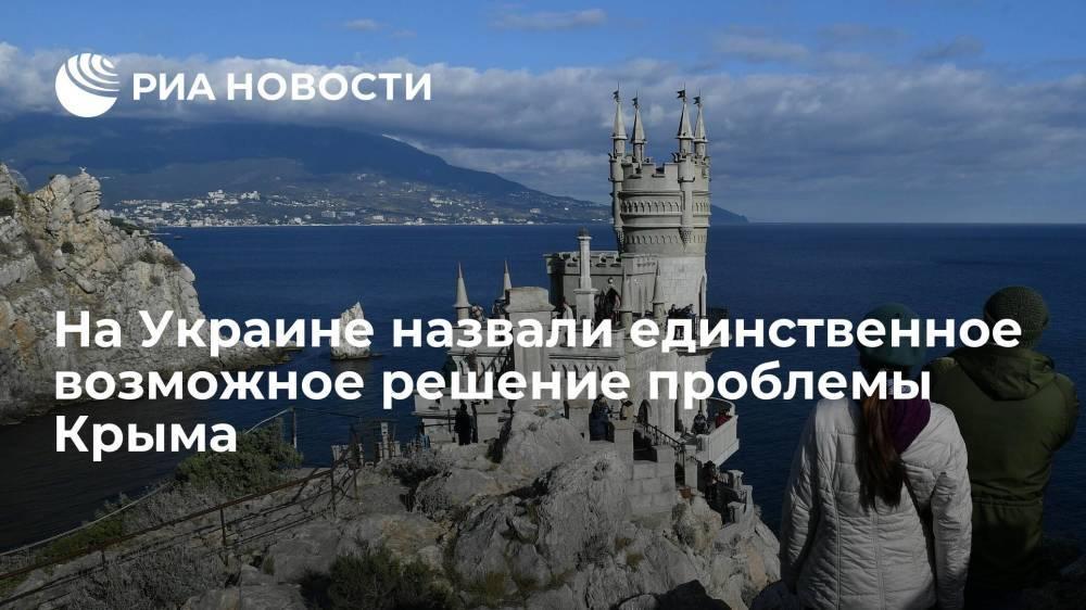 Украинский политолог Ермолаев заявил, что Крым ждет судьба Курил