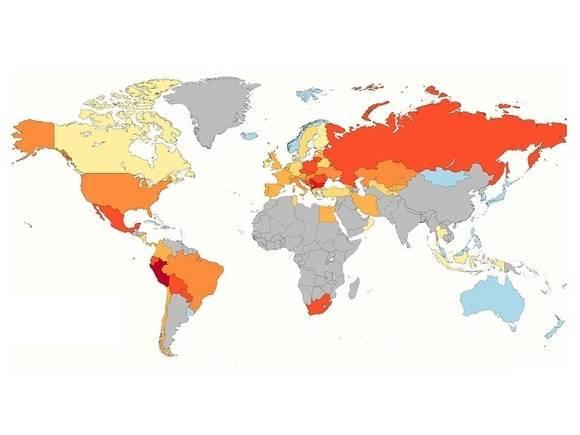 Ученые показали масштабы вранья официальной статистики по смертности от COVID-19