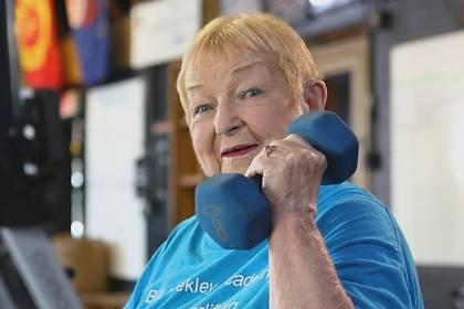 99-летняя спортсменка раскрыла секрет долголетия