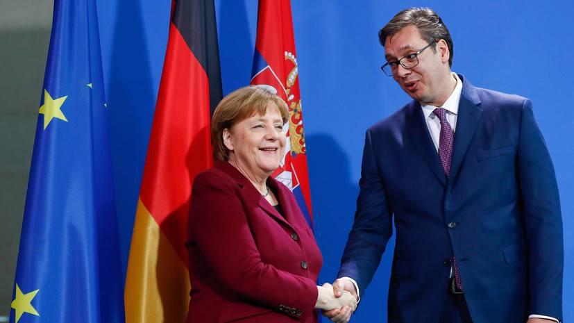 Вучич выразил опасения по поводу ситуации на Балканах после ухода Меркель