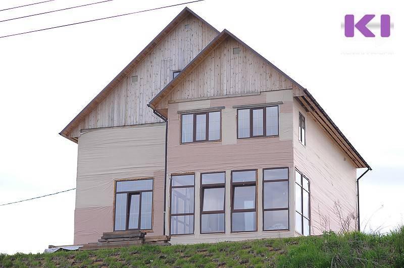 Жители Коми стали чаще строить себе дома