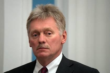 Песков рассказал об уровне антител Путина