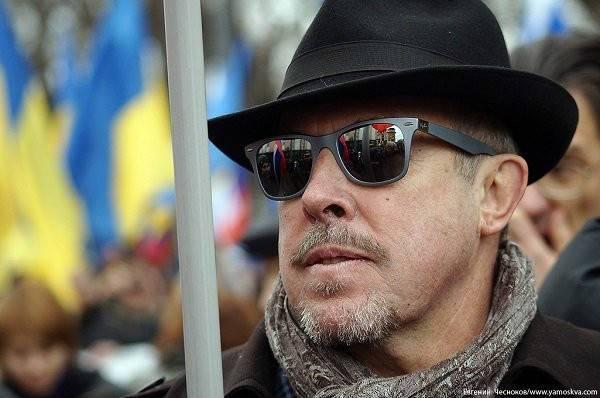 Украинцы разочаровались в своем «друге» Андрее Макаревиче