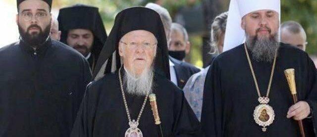В Москве запретили Варфоломею выступать от имени мирового православия