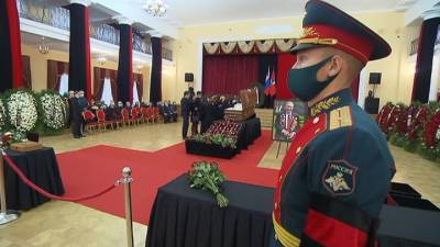 Владимира Долгих похоронили на Новодевичьем кладбище