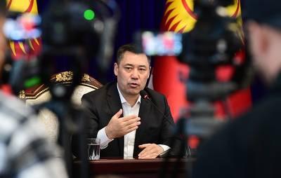 Новый премьер Киргизии пообещал скорую отставку президента Жээнбекова