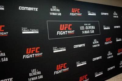 Назван победитель главного боя UFC Fight Night 179