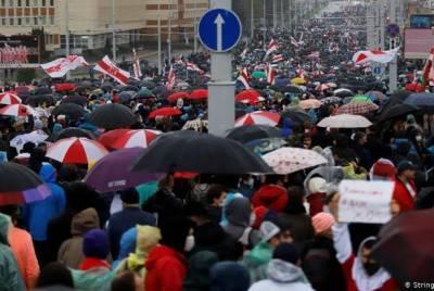 В Минске с августа к ответственности за протесты привлекли около 3 тыс. человек