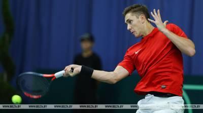 Герасимов проиграл в 1/16 финала теннисного турнира в Санкт-Петербурге